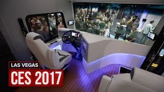 The Furrion Elysium RV has a hot tub and a retractable helipad(Furrion supplies high-end finishes for recreational vehicles, and its Elysium is filled with the best the company has to offer. Subscribe to Roadshow: ..., 2017-01-07T01:07:07.000Z)