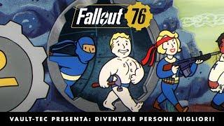 Fallout 76 – Vault-Tec presenta: Diventare persone migliori! Video sui talenti