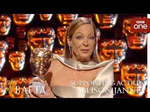 Allison Janney wins Supporting Actress - The British Academy Film Awards: 2018 - BBC One