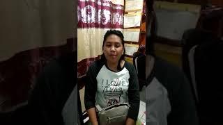 Dekalarasi Anti Hoax Oleh sdri Geby Tiala Warga Kampung Lehi Kec. Sibar