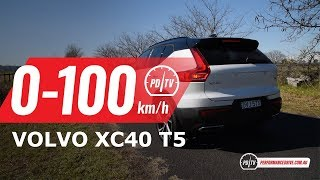 2018 Volvo XC40 T5 R-Design 0-100km/h & engine sound