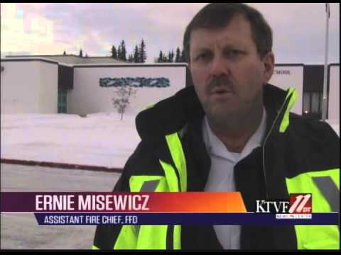 Smoke causes evacuation of Tanana Middle School