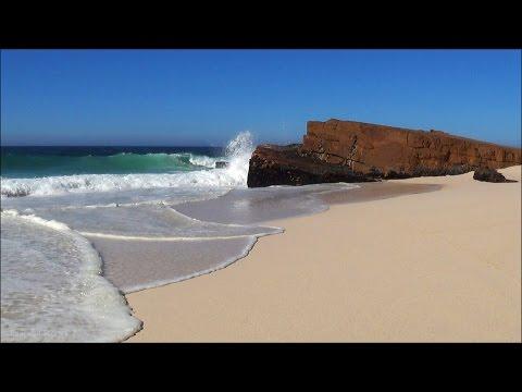 SECRET HIDDEN BEACH - 30 min HD video - high quality ocean sounds