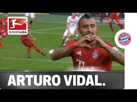Chilean Power - Arturo Vidal Strikes for Bayern München