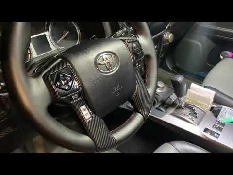 Toyota 4Runner 2014-2020 Interior Blacked Out Plastic Trim Full Set