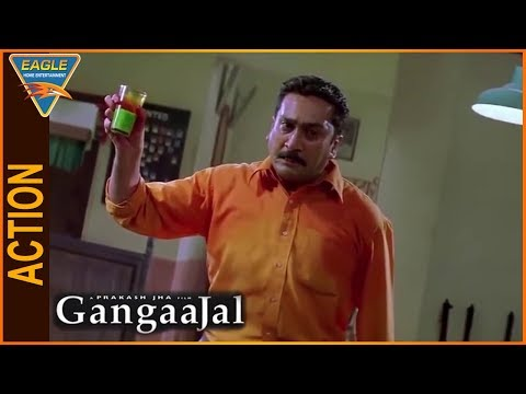 Gangaajal Hindi Movie || Mukesh Tiwari Torture To Villans Scene || Eagle Hindi Movies