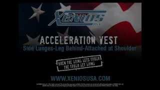Acceleration Vest-Side Lunges-Leg Behind-Attached at Shoulder