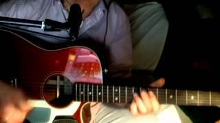 Paperback Writer ~ The Beatles - Macca ~ Acoustic Cover w/ Fender Sonoran CAR