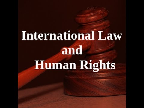 Info session for MA International Law and Human Rights programme