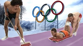 ULTIMATE GYMNASTICS CHALLENGE {Winter Olympics Edition}