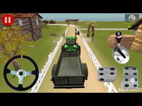tractor farm cargo parking обзор игры андроид game rewiew android.