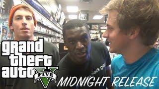 Grand Theft Auto 5 Midnight Release!!