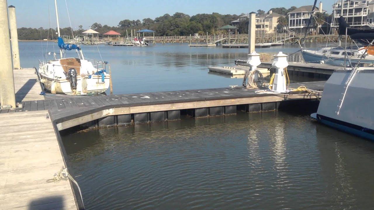 Sunset Cay Marina Folly Beach SC Boat Slip For Rent 843 ...