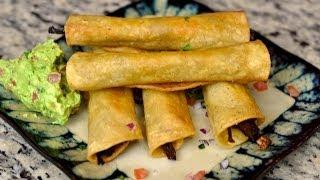 Recipe For Beef Taquito's / Flautas