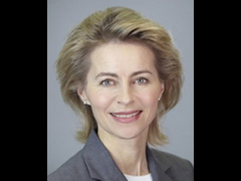 Ursula von der Leyen, Minister of Defense, Germany