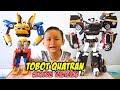 Intro Unboxing TOBOT Quatran Warna Hitam Special Edition  Mainan Anak Tobot Bahasa Indonesia