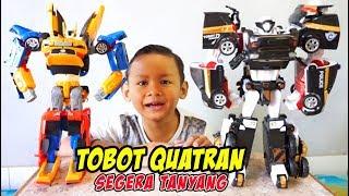 [Intro] Unboxing TOBOT Quatran Warna hitam Special Edition | Mainan Anak Tobot Bahasa Indonesia