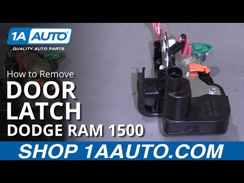 How to Replace Door Latch 94-02 Dodge Ram 1500