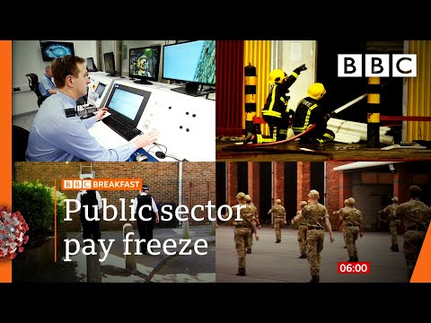 Covid: Millions of public sector workers face pay freeze 🔴 @BBC News live - BBC