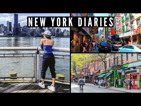 UNDERRATED MUST SEE PLACES IN NEW YORK | ChinaTown, Gantry Plaza State Park & Greenwich Village!