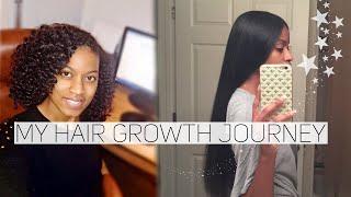 How Did My Hair Grow So Fast?|2018 Natural Hair Journey (Awkward Length to Hip Length)