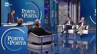 """Scontro 5Stelle-Salvini: """"Non rispondo agli insulti, io lavoro"""" - Porta a Porta 22/05/2019"""