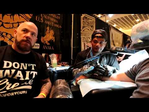 Golden State Tattoo Expo // Interview with tattoo artist KING 'AFA COCKER 2017