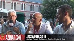 AZINAT.COM TV Le Direct - Atelier de Jazz de l'école de musique Foix-Varilhes