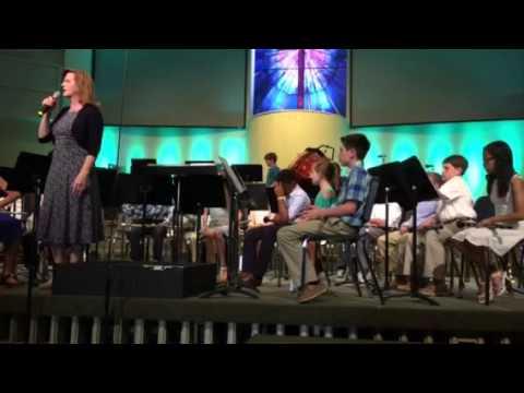 Parkview Baptist School 5th grade band 2016