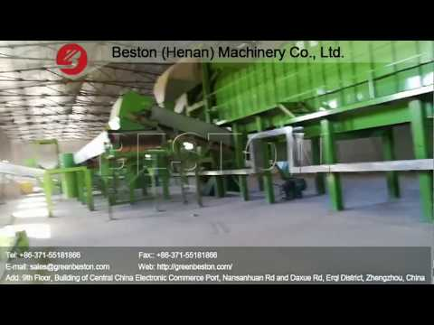 Beston Waste Separation Machine in Uzbekistan