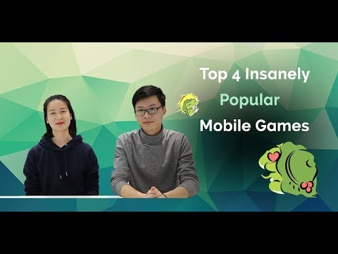 Top 4 Insanely Popular Mobile Games In China