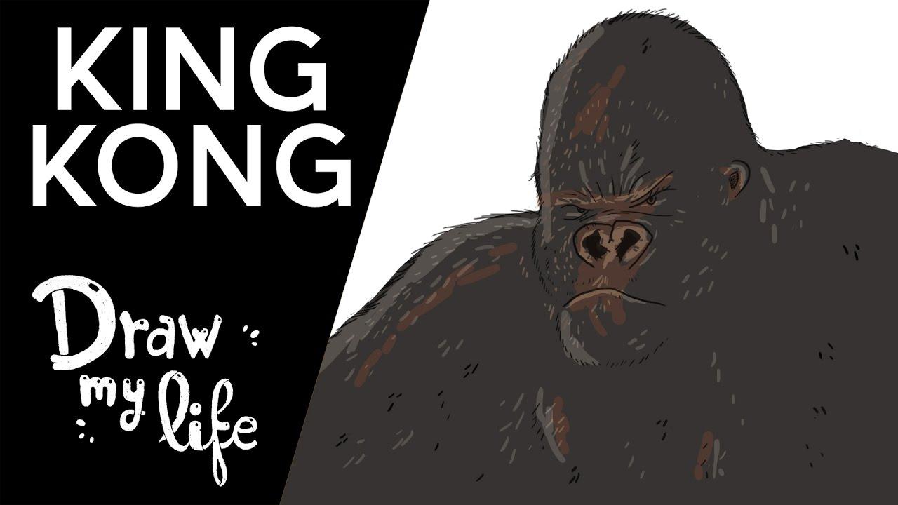 HISTORIA de KING KONG - Draw My Life