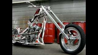 Harley Davidson Chopper Bikes 2012