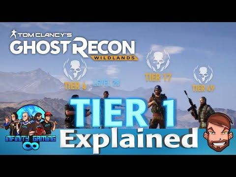 Ghost Recon Wildlands: TIER 1 Explained