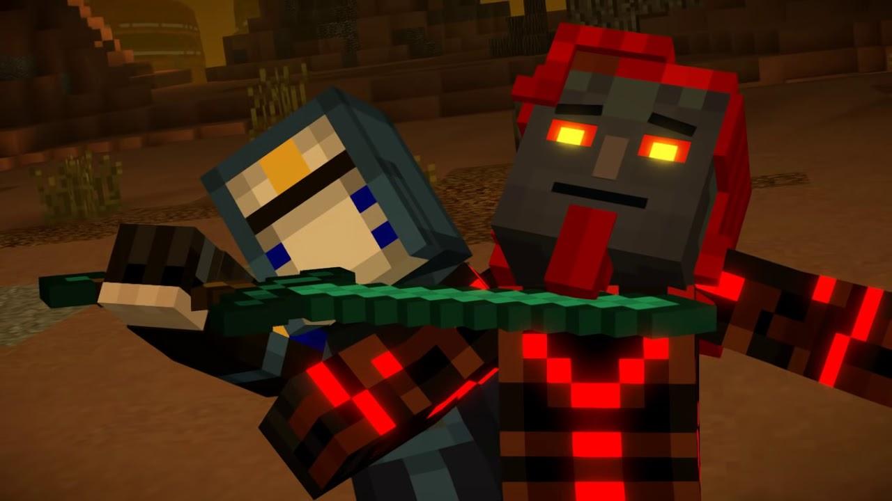 Minecraft Story Mode Ivor Gambleh S