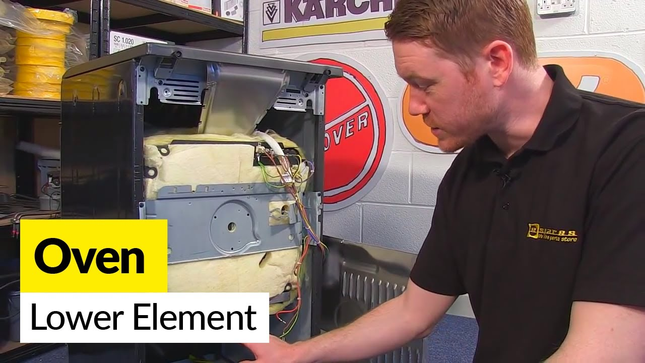 How to Replace a Lower Oven Element  YouTube