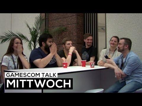 gamescom 2017 - Der Talk am Mittwoch - Müde aber glücklich