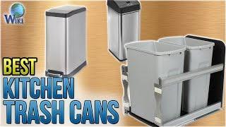 10 Best Kitchen Trash Cans 2018