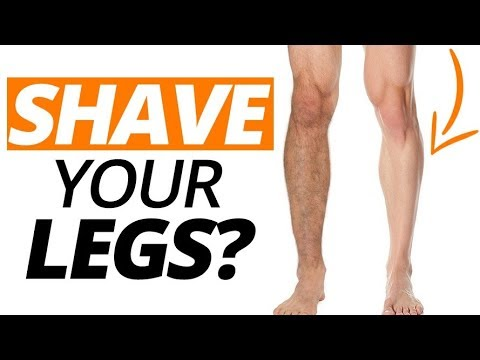 Should Men Shave Their Legs?   What Women Say May Surprise You....