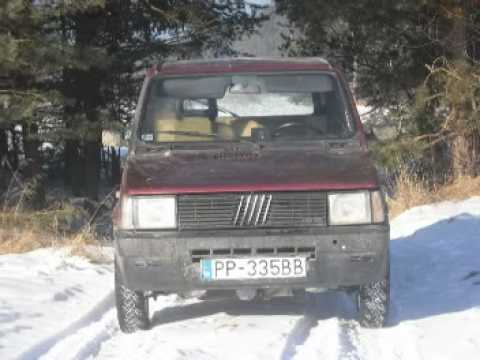panda 4x4 sisley off road snow 2 youtube