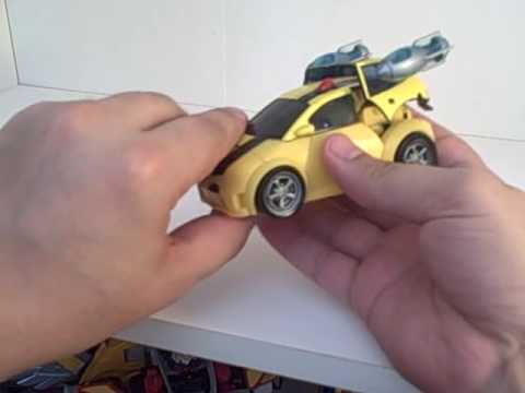 Transformers Animated Deluxe Bumblebee Review