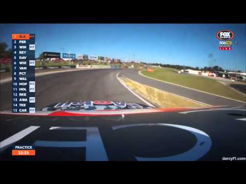 V8 Supercars 2015 Perth Perkins Onboard Laps