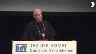 Weihbischof Dr. Reinhard Hauke: Geistliches Wort und Gedenken zum Tag der Heimat 2014