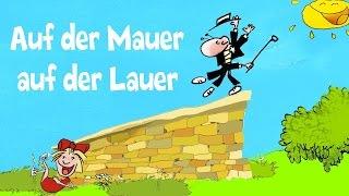 Auf der Mauer auf der Lauer - Kinderlieder Sternschnuppe - lustiger Kinderlieder-Klassiker