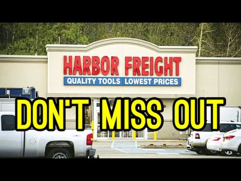 Best tools from Harbor Freight 2018 - Last Minute Gift Ideas For Him