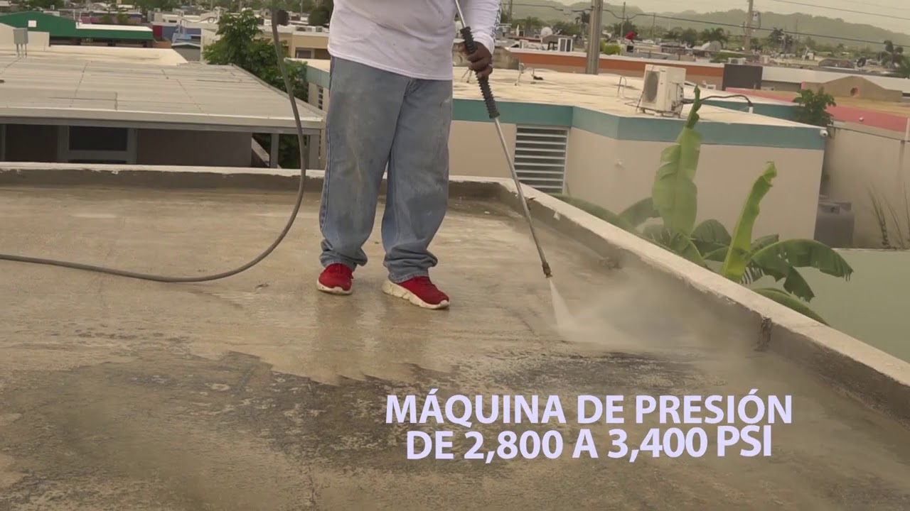 PASO 1 - Cómo reparar su techo correctamente antes de sellar