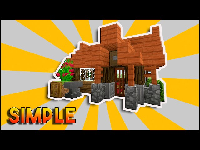 Cool Small House On Minecraft