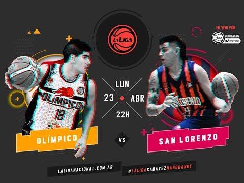 Liga Nacional: Olímpico vs. San Lorenzo | #LaLigaEnTyCSports