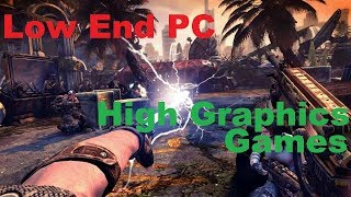 ((Part 2)) 5 High Graphics Games For Low Spec Gamers..