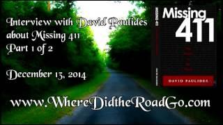 David Paulides Missing 411 Devil's in the Details Part 1 of 2 - December 13, 2014